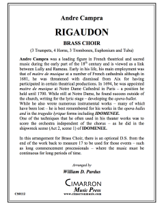 Rigaudon (processional)