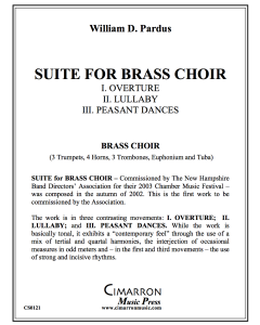 Suite for Brass Choir