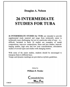 26 Intermediate Etudes for Tuba
