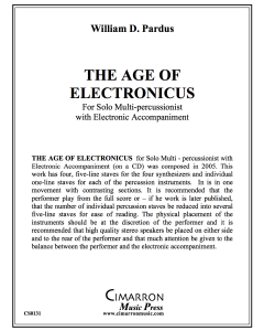Age of Electronicus, The
