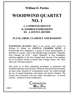 Woodwind Quartet No. 1