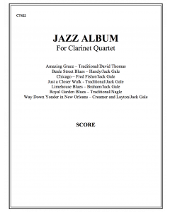 Jazz Album (clarinet quartet - score)