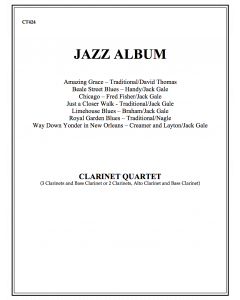 Jazz Album Complete (clarinet quartet)