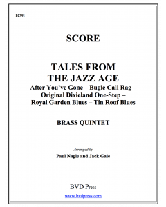 Tales from the Jazz Age (Score)