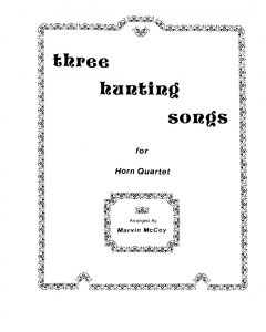 Shipped - Three Hunting Songs