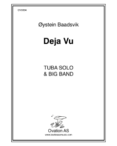 Deja vu (tuba and big band)