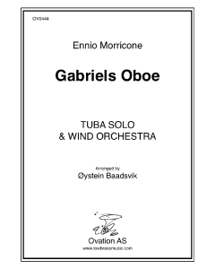 Morricone - Gabriel's Oboe (tuba and wind band)