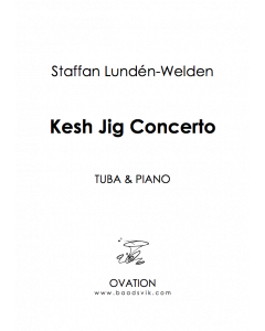 Kesh Jig Concerto (tuba and piano) Wellden