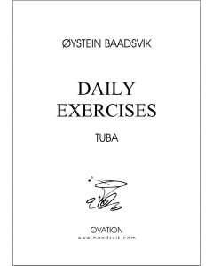 Daily exercises (for tuba)