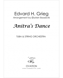 Grieg - Anitras Dance (tuba and strings)