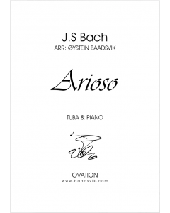 Bach - Arioso (tuba and piano/organ)