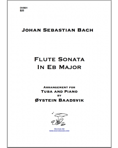 Bach Flute sonata in Eb (tuba and piano)