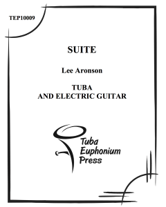 Suite for Tuba and Electric Guitar