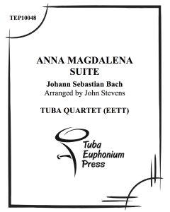 Anna Magdalena Suite