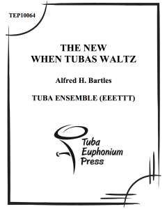 The New When Tubas Waltz