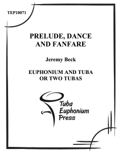 Prelude, Dance and Fanfare