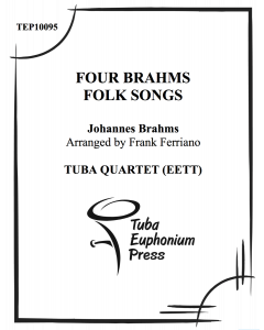 Four Brahms Folk Songs