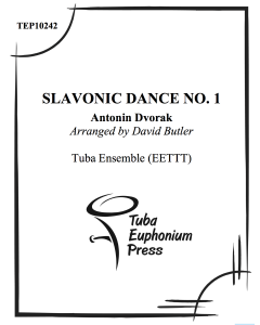 Slavonic Dances Op. 46, No. 1
