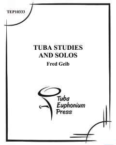 Studies and Solos for Tuba