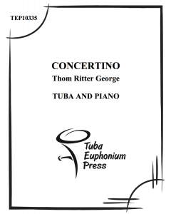 Concertino for Tuba and Piano