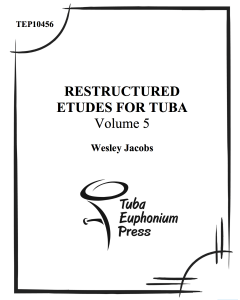 Restructured Etudes, Vol. 5