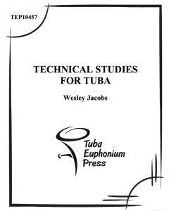 Technical Studies for Tuba