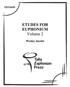 Etudes for Euphonium, Vol. 2