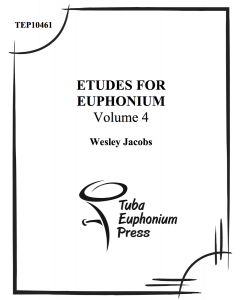 Etudes for Euphonium, Vol. 4