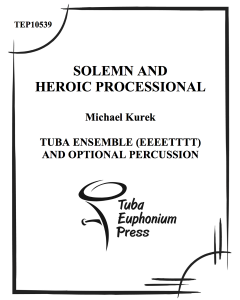Solemn and Heroic Processional