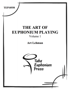 The Art of the Euphonium, Vol. 1