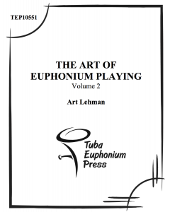 The Art of the Euphonium, Vol. 2