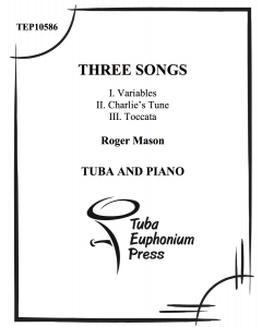 Three Songs for Tuba