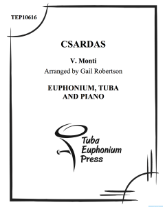 Czardas (duet with Piano)