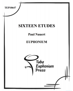 Sixteen Etudes for Euphonium