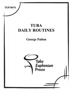 Tuba Daily Routines Book