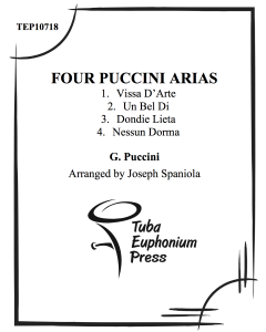 Four Puccini Arias
