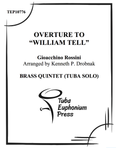 "Overture to ""William Tell"""