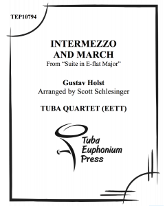 Intermezzo and March from Suite in Eb Major