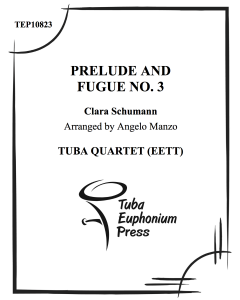 Prelude and Fugue No. 3