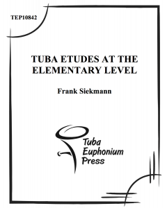 Tuba Etudes at the Elementary Level