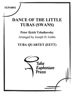 Dance of the Little Tubas (Swans)