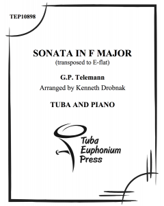 Sonata in F Major (transposed to Eb)