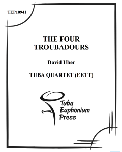The Four Troubadours