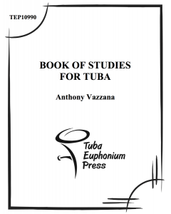 Book of Studies for Tuba
