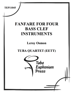Fanfare for Four Bass Clef Instruments
