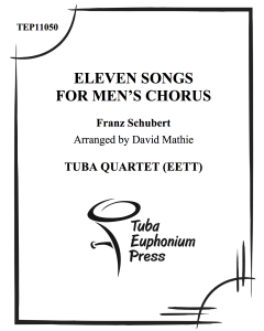 Eleven Songs for Men's Chorus