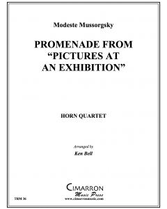"Promenade from ""Pictures at an Exhibition"""