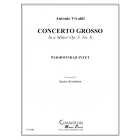 Concerto Grosso in A Minor (woodwind quintet) Vivaldi