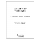 Concepts of Euphonium Tehnique