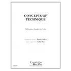 Concepts of Tuba Technique